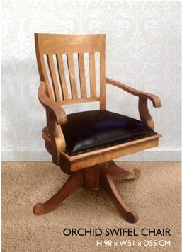 Orchid Swifel Chair