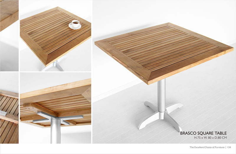 Brasco Square Table