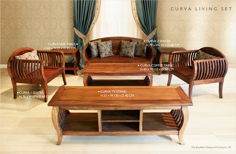 Curve Living Set