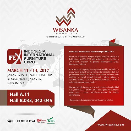 UNDANGAN IFEX WISANKA 2017
