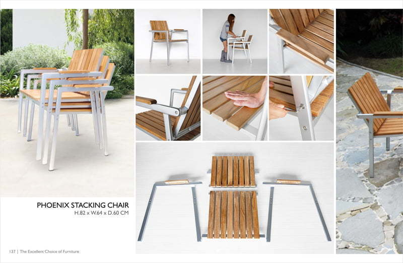 Phoenixs Stacking Chair